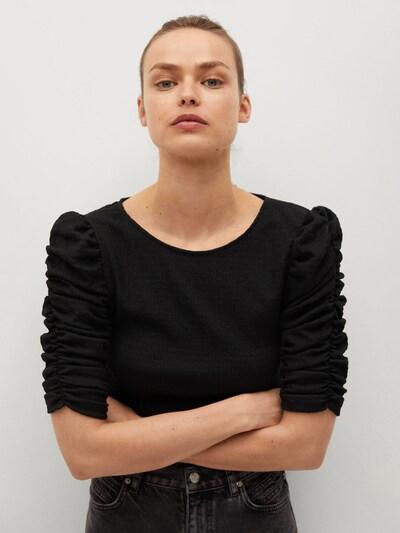 MANGO Bluse 'CHARLIE' in schwarz, Modelansicht