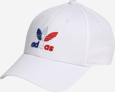 ADIDAS ORIGINALS Cap in blau / rot / offwhite, Produktansicht