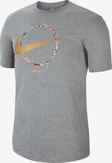 NIKE T-Shirt in grau, Produktansicht