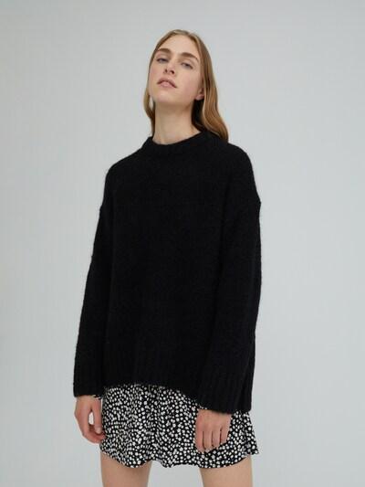 EDITED Pullover 'Elyse' in schwarz, Modelansicht