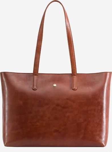 Jekyll & Hide Madrid Shopper Tasche RFID Leder 39 cm Laptopfach in cognac, Produktansicht