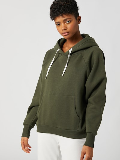 LeGer by Lena Gercke Hoodie 'Hayley' in oliv: Frontalansicht