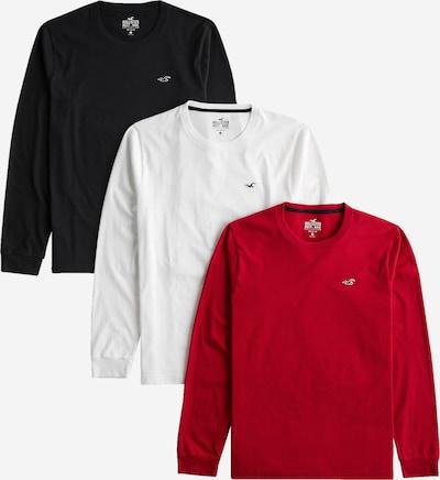 HOLLISTER Paita värissä punainen / musta / valkoinen, Tuotenäkymä