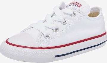 balts CONVERSE Brīvā laika apavi 'Chuck Taylor All Star'