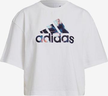 Tricou funcțional de la ADIDAS PERFORMANCE pe alb