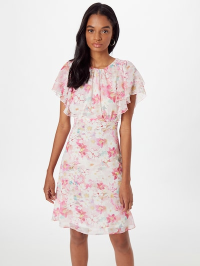 Orsay Kleid In Himmelblau Hellgelb Pink Pastellpink Weiss About You