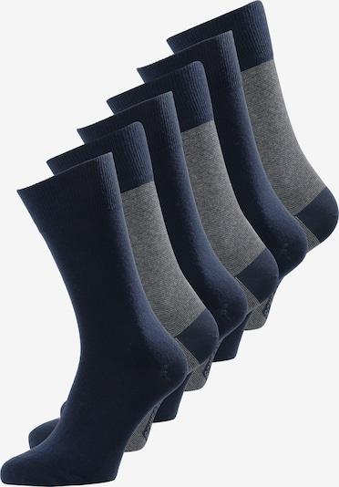 SCHIESSER Freizeitsocken ' 6-Pack Mix ' in blau / grau, Produktansicht