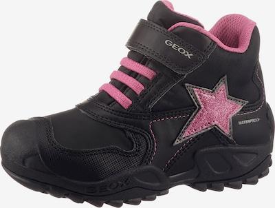 GEOX Kids Sneaker in pink / schwarz, Produktansicht