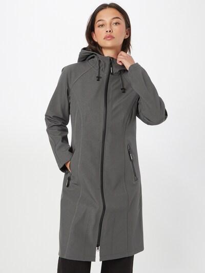 ILSE JACOBSEN Přechodný kabát - tmavě šedá, Model/ka