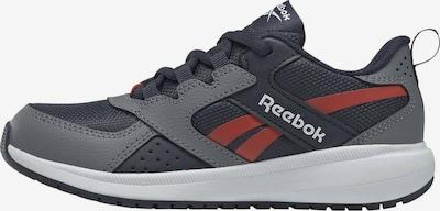REEBOK Sportschuh 'Road Supreme' in navy / grau / rot, Produktansicht