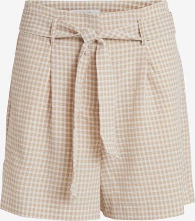 Pantaloni cutați 'LAIDAS' VILA pe crem / alb, Vizualizare produs