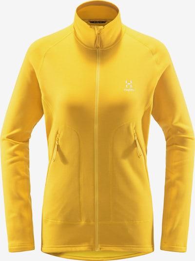 Haglöfs Functionele fleece jas 'Heron' in de kleur Geel, Productweergave