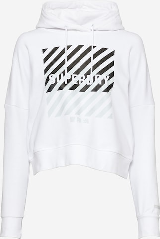 Superdry Sportsweatshirt i hvit