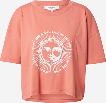 ABOUT YOU Limited Shirt 'Mara' in Oranje
