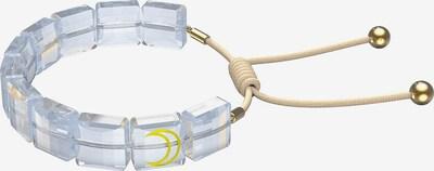 Swarovski Armband in beige / gold / transparent, Produktansicht
