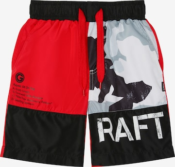 Gulliver Board Shorts in Red