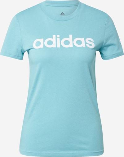 ADIDAS PERFORMANCE Sporta krekls, krāsa - tirkīza / balts, Preces skats