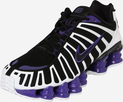 Nike Sportswear Zemie apavi 'Shox TL' tumši lillā / melns / balts, Preces skats