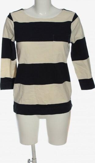 COTTON Club Longsleeve in XS in schwarz / weiß, Produktansicht