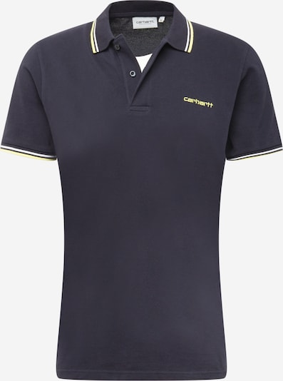Tricou Carhartt WIP pe bleumarin / galben / alb, Vizualizare produs