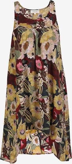 usha FESTIVAL Sommerkleid in braun / mischfarben: Frontalansicht