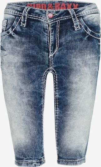 CIPO & BAXX Damen Shorts im Slim Fit-Schnitt in blau, Produktansicht