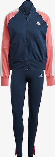 ADIDAS PERFORMANCE Trainingsanzug in navy / altrosa / weiß, Produktansicht