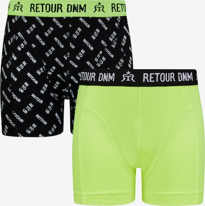 Retour Jeans Underpants 'Damion' in Neon yellow / Black / White, Item view