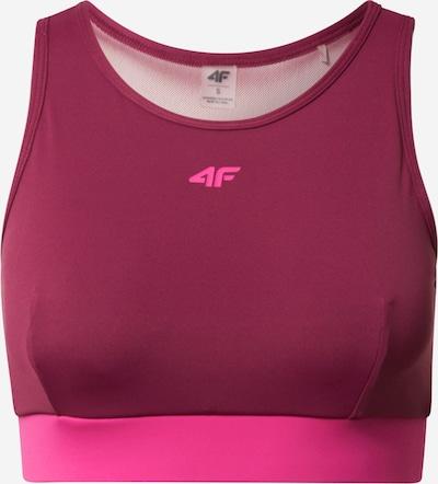 4F Sport-BH in pink / burgunder, Produktansicht