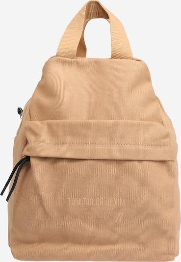 TOM TAILOR DENIM Ryggsäck 'Lia' i ljusbrun, Produktvy