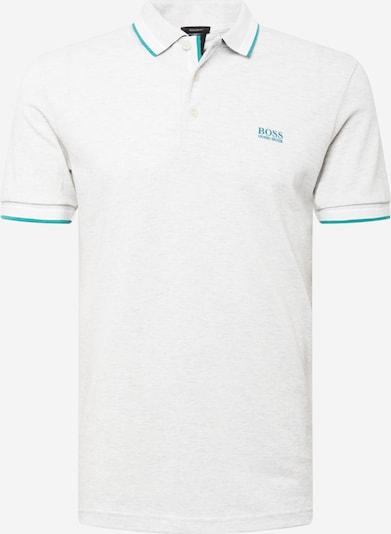 BOSS ATHLEISURE T-Shirt 'Paddy' en turquoise / gris clair, Vue avec produit