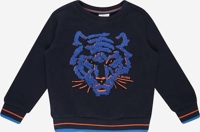 s.Oliver Sweater majica u mornarsko plava / kraljevsko plava / tamno narančasta, Pregled proizvoda