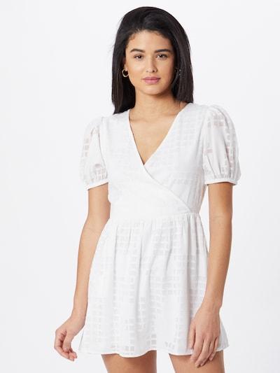 Miss Selfridge (Petite) Kleid 'APPLIQUE' in weiß, Modelansicht