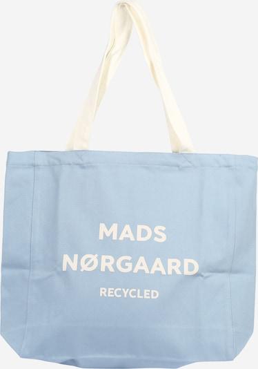 Shopper 'Athene' MADS NORGAARD COPENHAGEN di colore blu chiaro / bianco, Visualizzazione prodotti