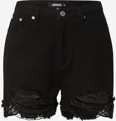 Missguided Vaquero en negro denim, Vista del producto