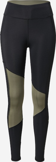 COLUMBIA Sporthose in khaki / schwarz, Produktansicht