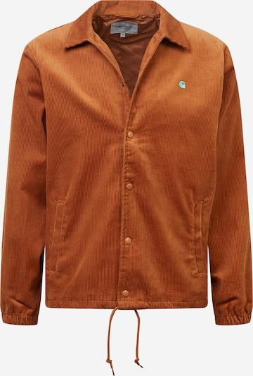 Carhartt WIP Jacke in türkis / rostbraun, Produktansicht