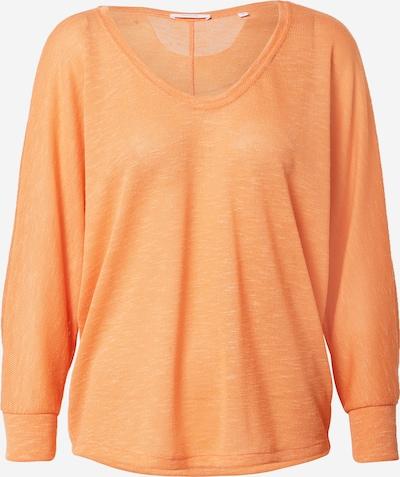 OPUS T-shirt oversize 'Sunshine' en orange chiné, Vue avec produit