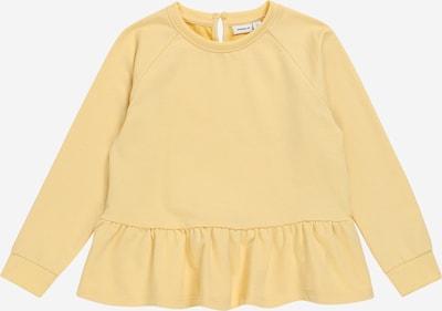 NAME IT Sweatshirt 'TIKKA' in hellgelb, Produktansicht