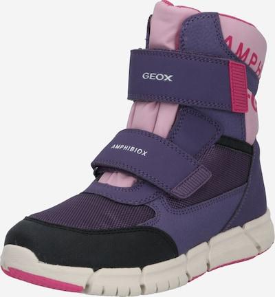 GEOX Snowboots in lila / pink, Produktansicht