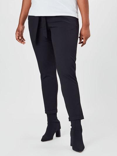 KAFFE CURVE Hose 'Jia' in schwarz, Modelansicht