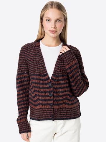 STEFFEN SCHRAUT Knit Cardigan 'Chiuvana' in Brown
