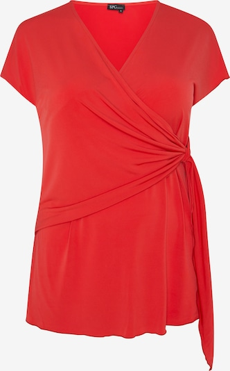 SPGWOMAN Wickelbluse in rot, Produktansicht