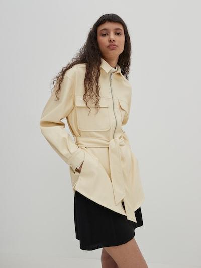 EDITED Hemd 'Kendall' in beige, Modelansicht