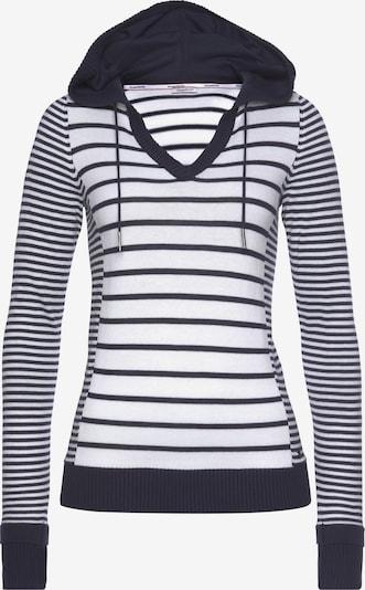 KangaROOS Pullover in marine / weiß, Produktansicht