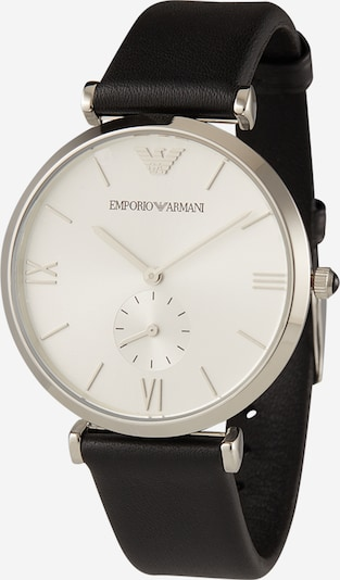 Emporio Armani Analog watch in black / silver / white, Item view