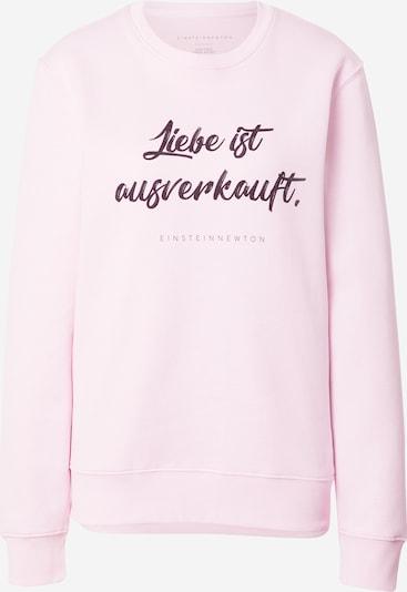 EINSTEIN & NEWTON Sweatshirt 'Klara' in aubergine / hellpink, Produktansicht