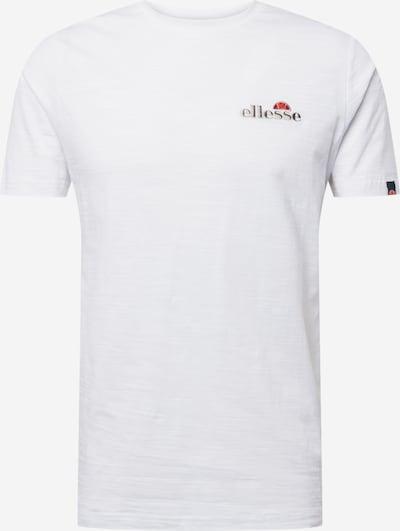 ELLESSE T-Shirt 'Mille' in weiß, Produktansicht