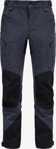 Pantalon outdoor 'Rugged Mountain' Haglöfs en bleu