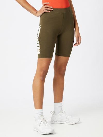 ELLESSE Shorts 'TOUR' in oliv / orange / rot / weiß, Modelansicht